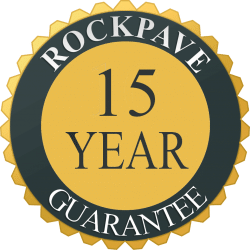 Rockpave 15 year guarantee