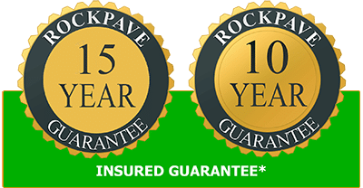 Rockpave guarantee logo