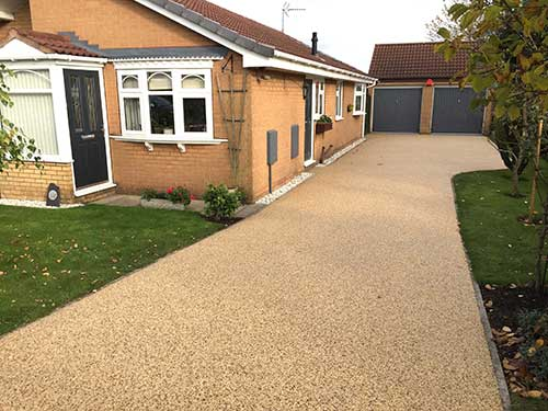 Kirk Ella resin driveway after resin bound install