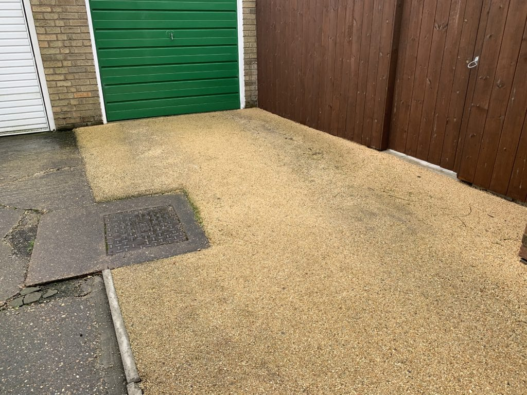 Badly installed Resin Driveway